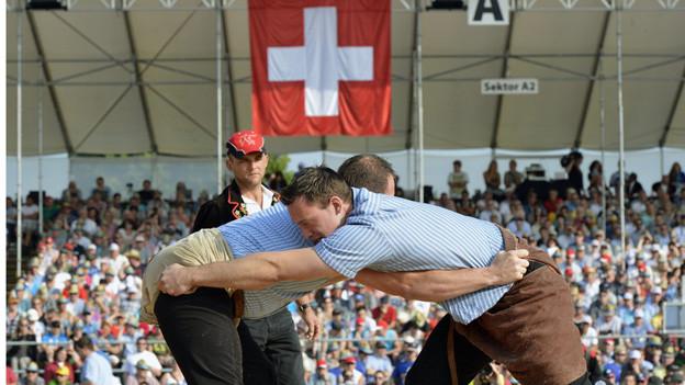 Kein einheimischer Triumph am Innerschweizerischen Schwingfest in Emmen.
