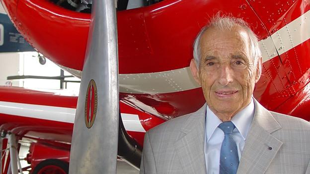 Alfred Waldis war von 1957 bis 1990 für das Verkehrshaus tätig.