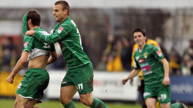 Die Spieler des SC Kriens spielen bald unter neuer Führung.
