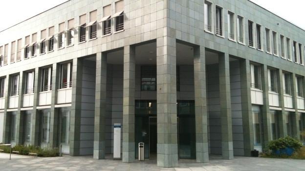 Das Zuger Gerichtsgebäude.