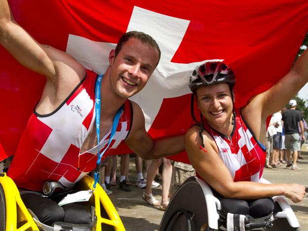 Marcel Hug und Manuela Schär haben an der WM brilliert.