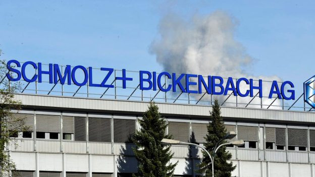 Das Firmengebäude von Schmolz+Bickenbach in Emmen.