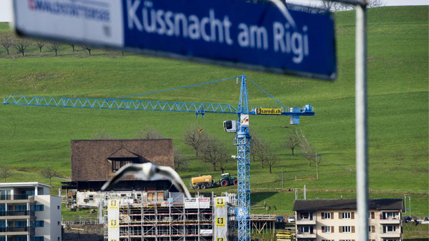 Der Bauboom in Küssnacht am Rigi könnte gebremst werden.