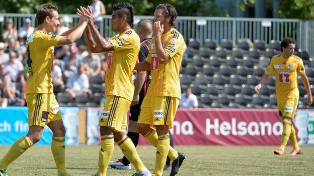 Mit 11 zu 0 fertigte Luzern den Zweitligisten Murten ab.