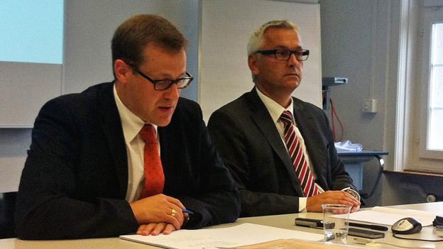 Der Schwyzer Finanzdirektor Kaspar Michel will die Steuern erhöhen.