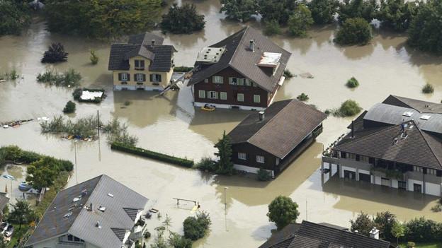 Hochwasserschutzmassnahmen in Obwalden kosten 100 Millionen.