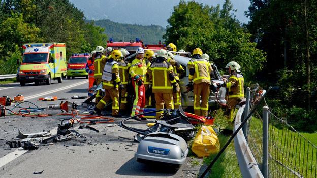 Zu gefährlich: Die A8 nach einem Unfall im August.