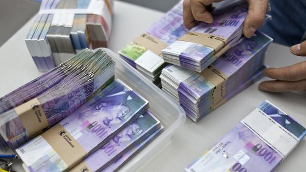 Die CVP überlegt sich, der Staatskasse wieder mehr Steuergeld zuzuführen.