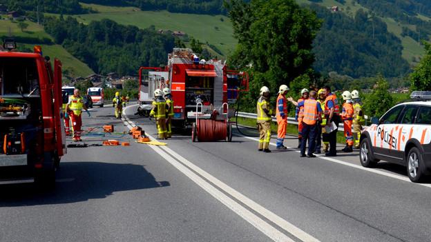 Der letzte schwere Unfall auf der A8 erreignete sich Anfang August.