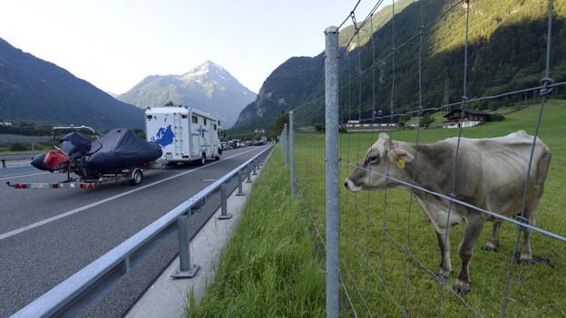 Bewohner des Kantons Uri sind gegen eine zweite Gotthardröhre.