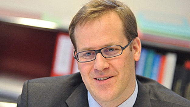 Finanzdirektor Kaspar Michel
