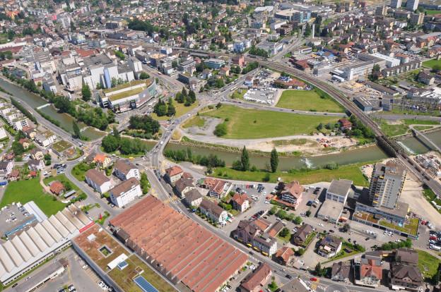 Der Seetalplatz in Emmen wird zur Grossbaustelle.