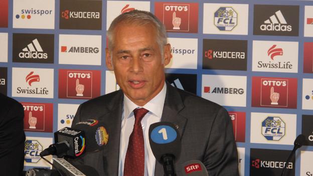 Rudolf Stäger übernimmt sein neues Amt ab 2014.