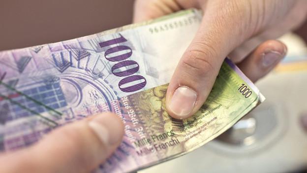 Der tiefste Lohn in der Schwyzer Verwaltung ist 42'819 Franken.