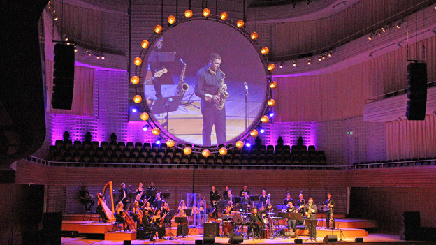Das Christoph Walter Orchestra am World Band Festival im KKL.