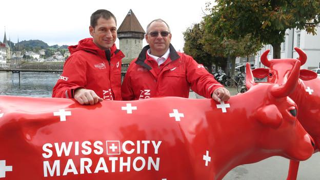 Das OK des Swiss City Marathon.