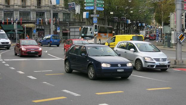 Das Zentrum von Luzern soll vom Verkehr entlastet werden.
