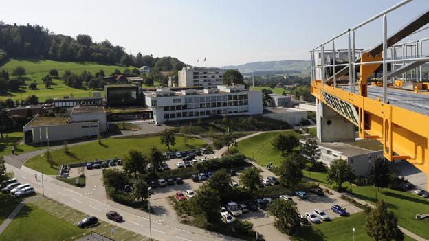 Das Gelände des Campus Sursee soll noch grösser werden.