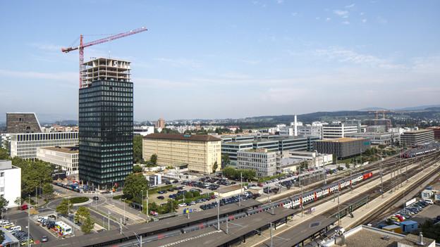 Die Stadt Zug erwartet rote Zahlen.