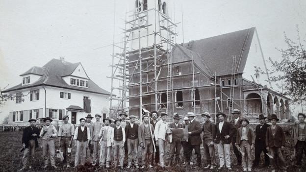 Die Reformierten fassten in Sursee 1913 mit dem Bau einer eigenen Kirche richtig Fuss.