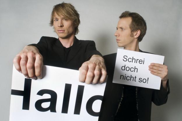 «Ohne Rolf» werden mit dem deutschen Kleinkunstpreis 2014 ausgezeichnet.