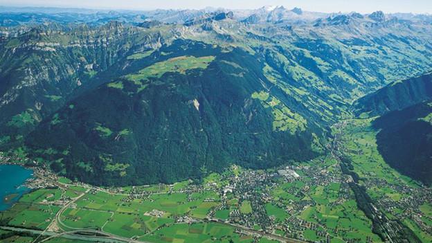 Im Urner Talboden soll ein Umfahrung die Dörfer vom Verkehr entlasten
