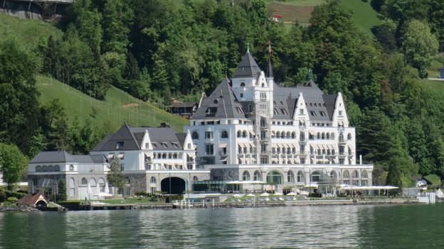 Der österreichische Investor Peter Pühringer hat das Parkhotel für 270 Millionen Franken saniert.