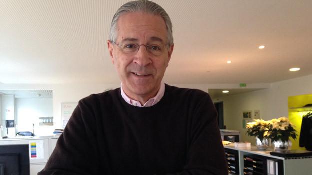 Hubert Achermann, Präsident der Stiftung Salle Modulable.