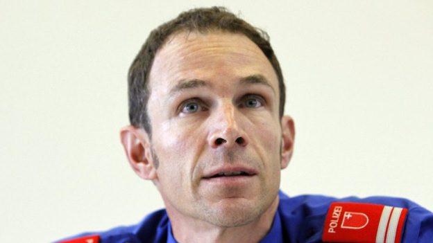 Der Schwyzer Polizeikommandant Lorenzo Hutter