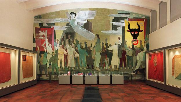 Das Bundesbriefmuseum in Schwyz wird entstaubt und modernisiert.