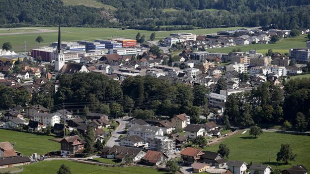 Die Gemeinde Alpnach im Kanton Obwalden.