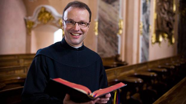 Der neue Abt Urban Federer unterrichtete bisher auch an der Stiftsschule.