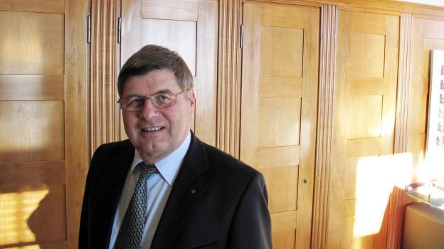 Markus Dürr steht neu an der Spitze der Suva.