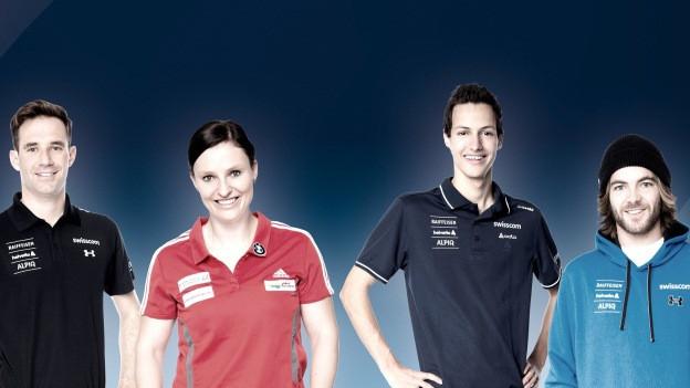 Vier Sportler sollen durch den Kanton Luzern unterstützt werden.