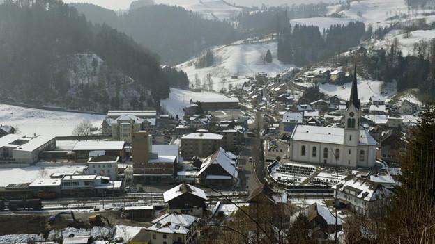 Das Dorf Menznau hat ein schwieriges Jahr hinter sich.