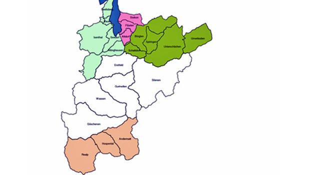 Der Kanton Uri soll mit nur noch 5 Gemeinden in die Zukunft gehen.