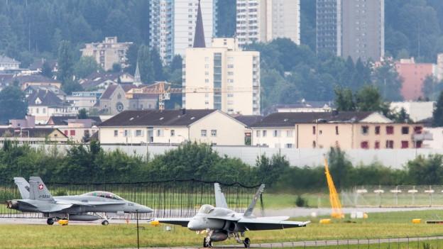 Emmen will mehr Informationen zur Nutzung des Flugplatzes.
