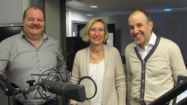 Felix Müri, Prisca Birrer und Roland Fischer