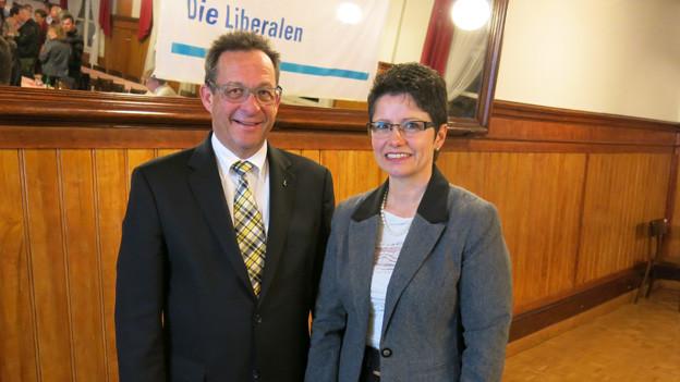 Paul Federer und Maya Büchi sollen die beiden FDP-Sitze im Obwaldner Regierungsrat verteidigen