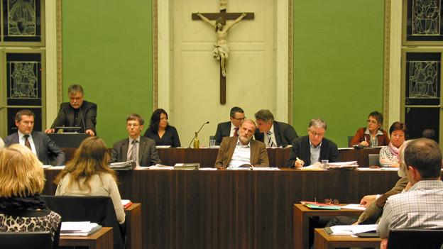 Der Stadtrat von Zug.