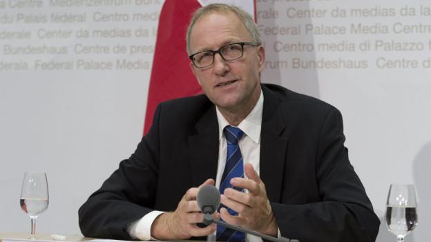 Die Kantone könnten die Frage der Einkünfte gut selbst regeln, ist Peter Hegglin überzeugt