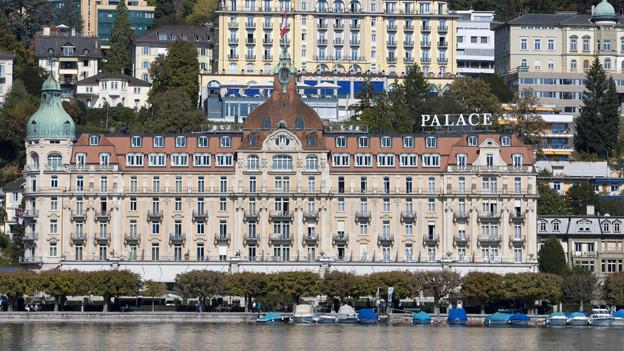 Zur Jungfrau-Victoria-Gruppe gehört auch das Hotel Palace in Luzern.