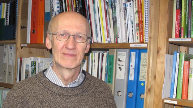 Alf Arnold, Geschäftsführer der Alpeninitiative.
