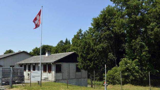 Die Truppenunterkunft Gubel soll als Asylunterkunft dienen