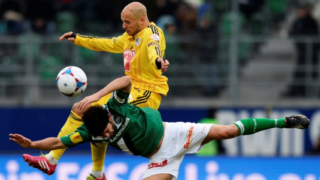 Der FCL rettet in St. Gallen einen Punkt.