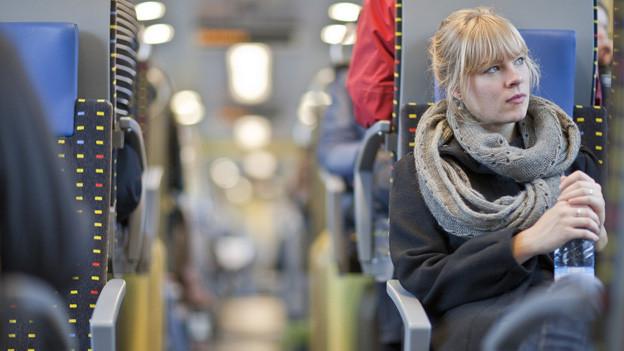 Bahn- und Busfahren wird in Zug immer beliebter.