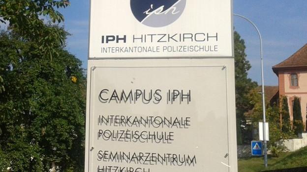 Die Polizeischule Hitzkirch braucht neuen Direktor.
