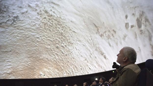 Neues Planetarium im Verkehrshaus Luzern