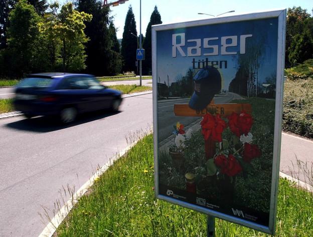 Im Kanton Luzern wurden im vergangenen Jahr 15 Verfahren gegen Raser geführt