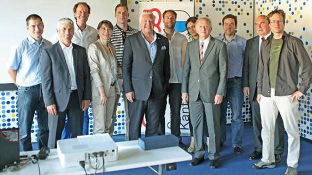 Der Vorstand der IG Sport Luzern.